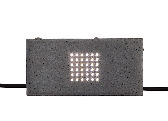 LED paving 10 x 20 x 6 cm, LED and 30 cm cable/plug include