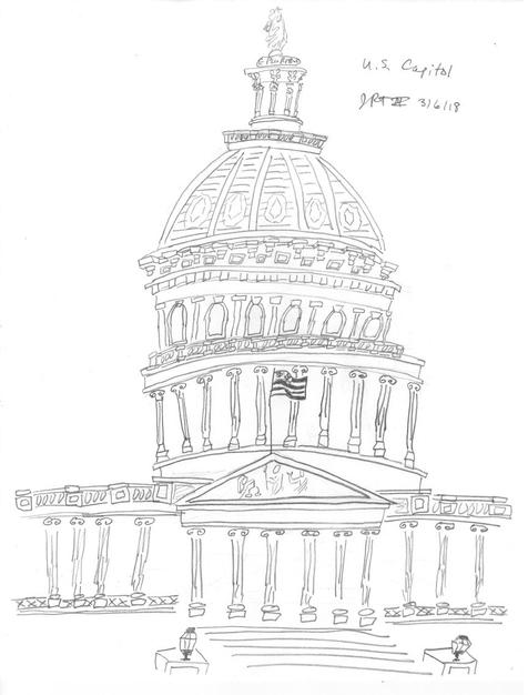 9. U.S. Capitol
