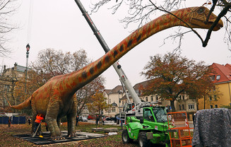 Seismosaurus Modell