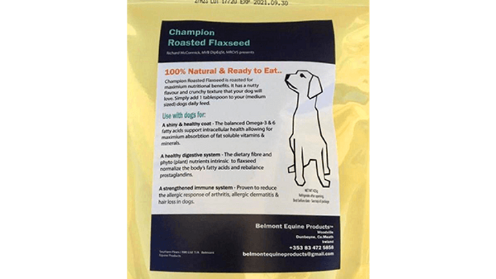 Champion Roasted Flaxseed - For Canines