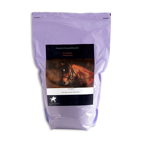 Champion Roasted Flaxseed - For Equines