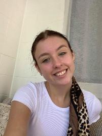 Selfie young girl before boudoir photos
