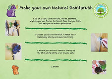 Copy of Make your own Nature Paintbrush.