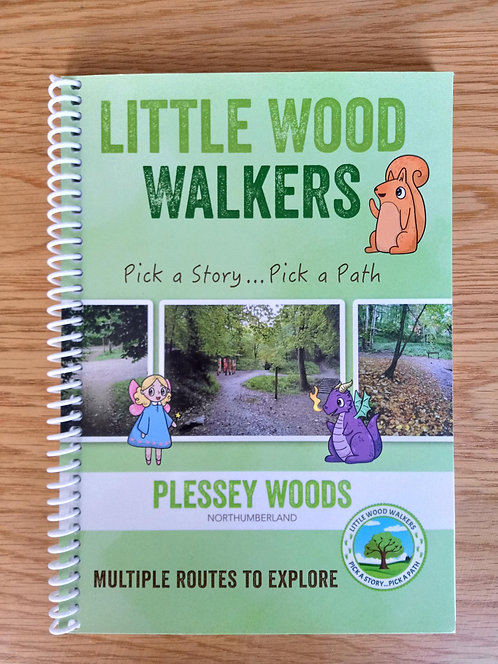 Plessey Woods, Morpeth -  Pick a Path