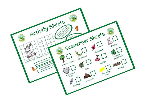 DOWNLOAD - 5 Pack Scavenger/Activity Sheets