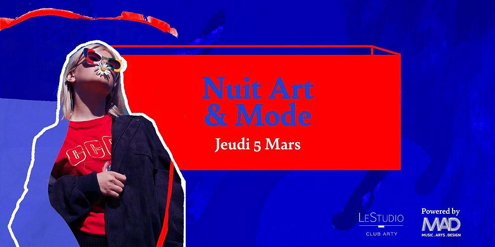 [EXPERIENCE]NUIT ART ET MODE