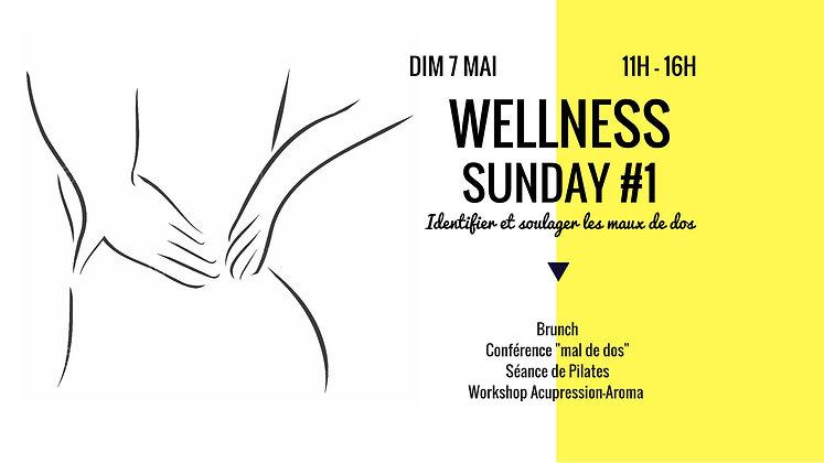 Wellness Sunday - tarif DUO