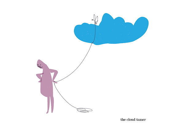 The Cloud Tamer - Garth Bowden