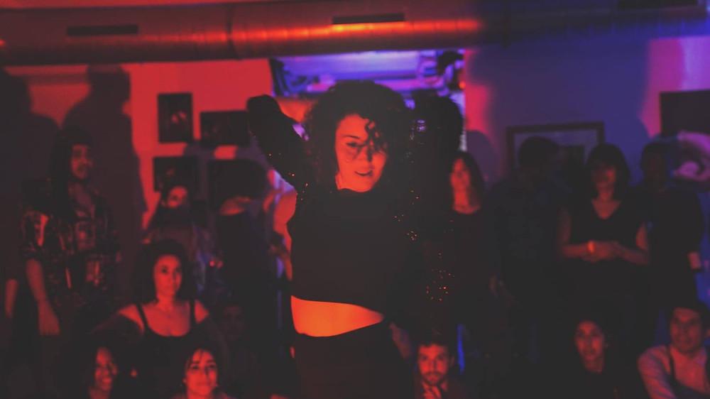 Jam danse Waacking chez LeStudio