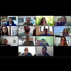 Corona virus wont stop us #2! First virtual group meeting!