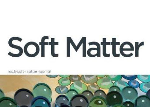 Congratulation to Francesca Netti and Moumita Ghosh for the publication in Soft Matter!