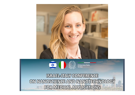 Lihi is co-organizing the Italy-Israel Binational Meeting on Nanoscience and Nanotechnology for Medical Applications, Tel Aviv University, Israel