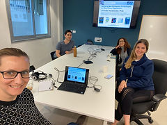 Corona virus wont stop us! Lihi gave an online lecture at the 5th Bioinspired Materials 2020 web conference!