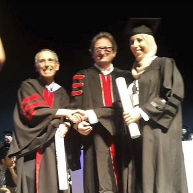 Congratulations to Dr. Lialy Khadeja on her graduation ceremony and receiving D.M.D Diploma.