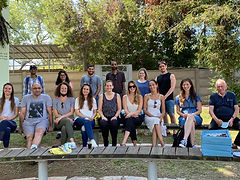 Group tour in the Tel Aviv University Botanical Garden