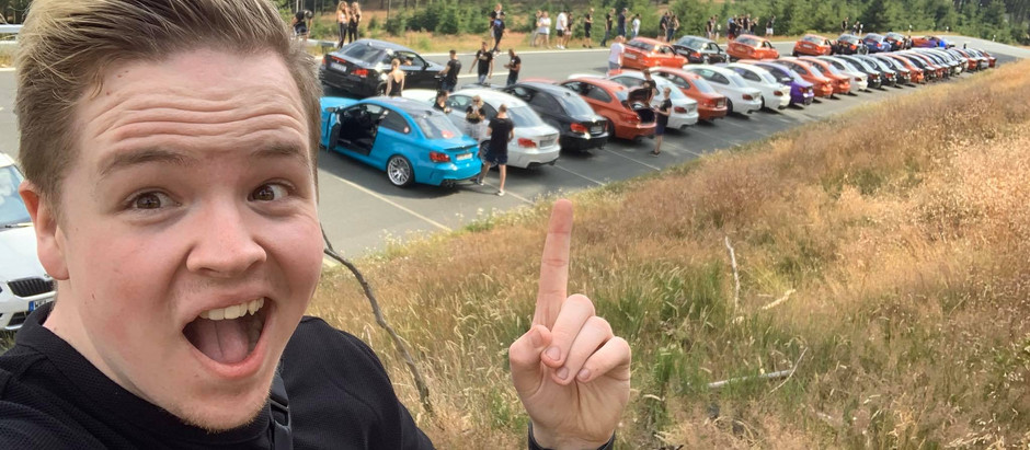 56 BMW 1M's in 1 place