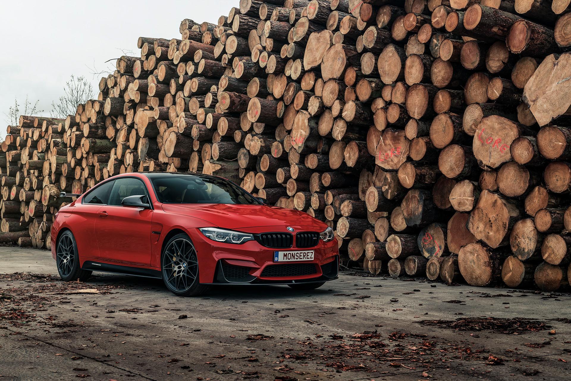 BMW M4 Ferrari red Individual