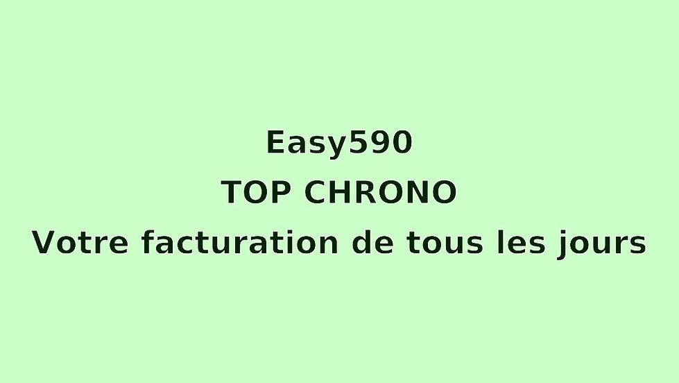 Tutoriel court en français concernant l'usage du logiciel Easy590