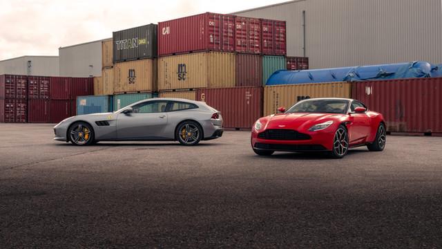 Ferrari GTC4 Lusso & Aston Martin DB11
