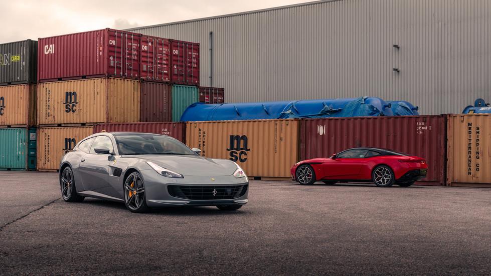 Ferrari GTC4 Lusso x Aston Martin DB11 (