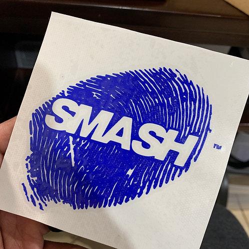 SMASH STICKER DECAL 5x5