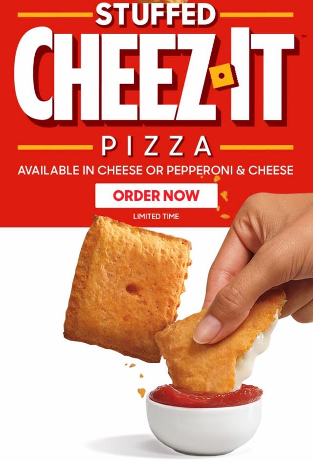 Review: Pizza Hut Stuffed Cheez-It Pizza!