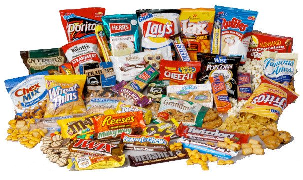 A delicious assortment of snacks that we can't eat because we are dieting.