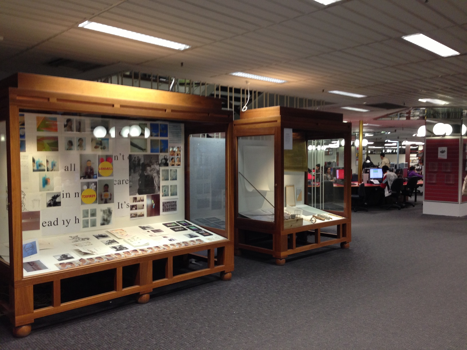 RMIT University library exhibition 2013_1