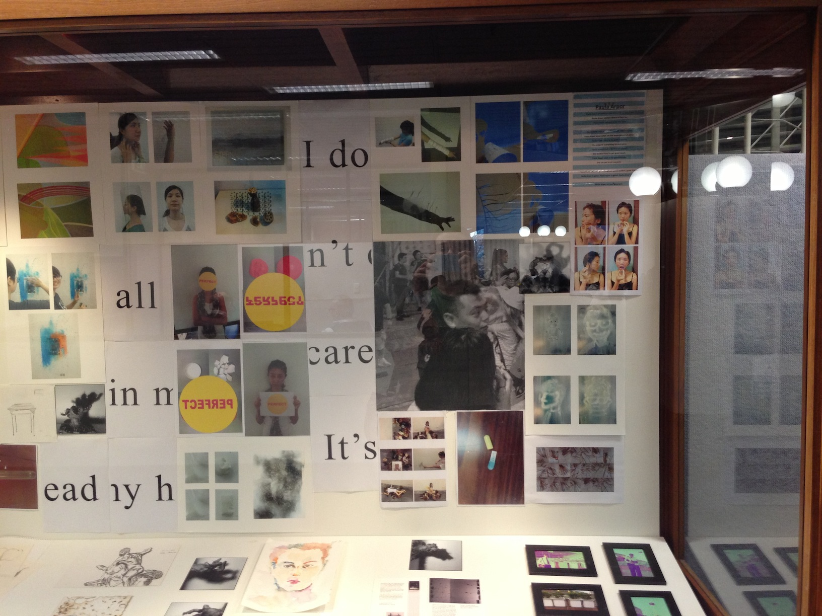 RMIT University library exhibition 2013_2