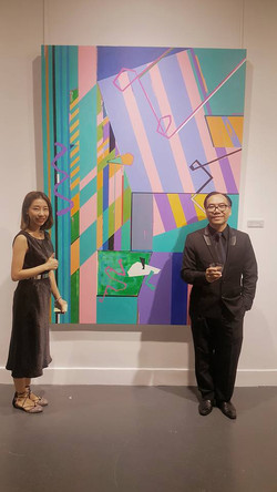 Nagist Art Group 主席陳偉邦先生及副主席PatUniqu