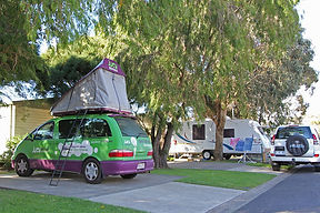 Apollo Bay Holiday Park camp and caravan sites