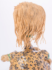 """Goddess-No.1(back)"", glazed stoneware,"