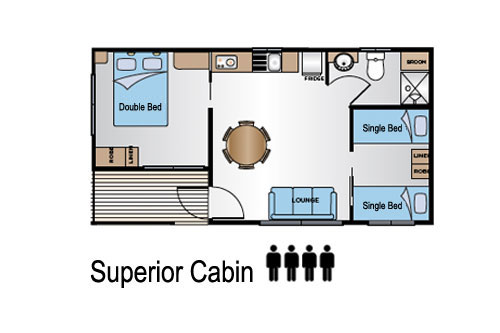 Superior sleeps 4