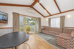 Spa Cabin Living area