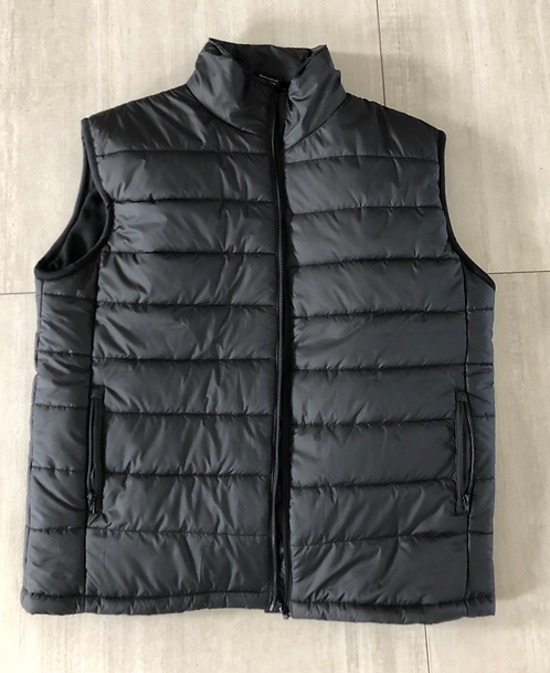 Puffer Vest with Polar Fleece Lining