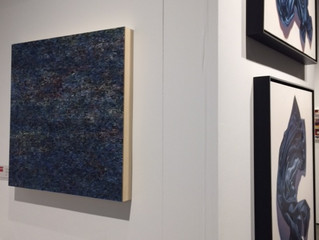 Blue Nocturne (e) at the Silicon Valley/San Francisco Art Fair