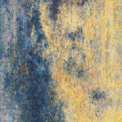 Composition. Yellow. Blue.