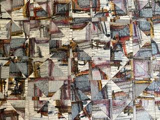 New Painting in Progress:  Quadrants' Quadrille