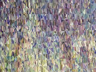 Nocturne. Violet. Green. detail