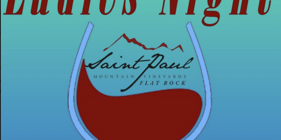 Ladies Night at Saint Paul Flat Rock