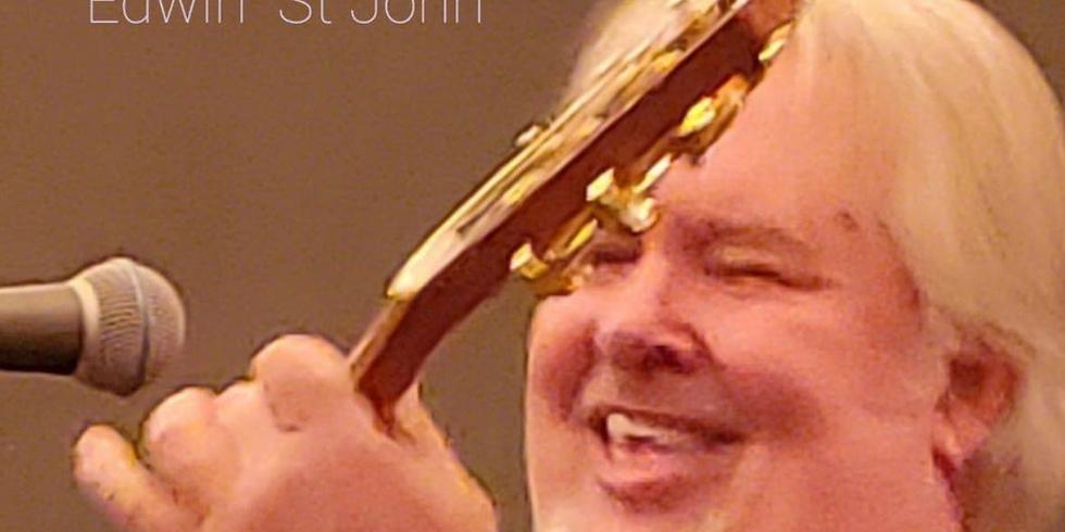 Live music with Edwin St John