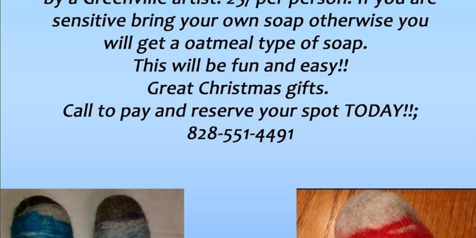 Craft Night at Saint Paul Flat Rock - Felt Soap