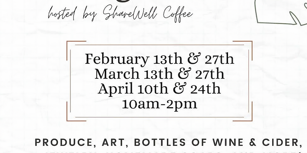 The Market at Appalachian Ridge - Hosted by ShareWell Coffee