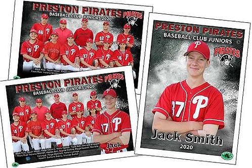 Preston Pirates Baseball Best Buy – All 3 Photos