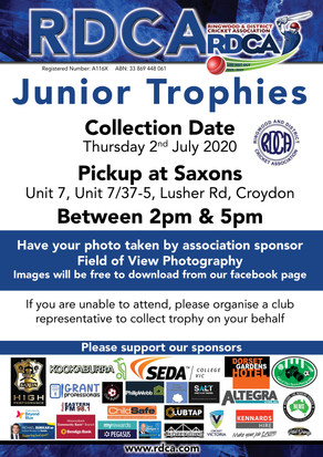 Junior Trophy Collection