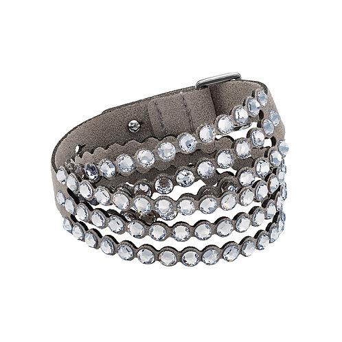 Swarovski Power Collection braceletLight gray