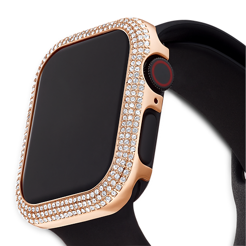 40 mm Sparkling Case compatible with Apple Watch?, Rose-gold tone