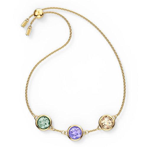 Tahlia BraceletMulticolored, Gold-tone plated