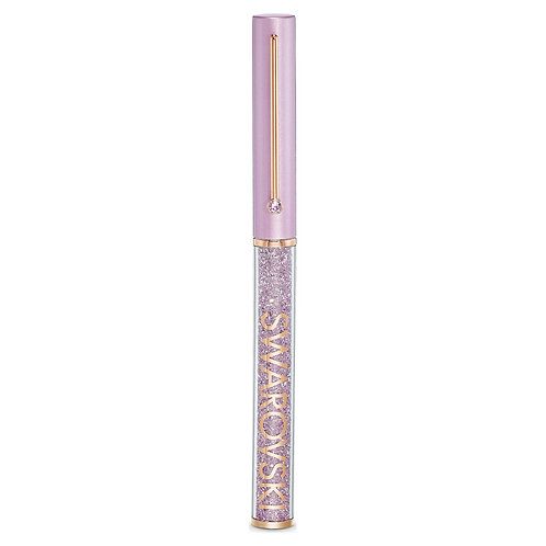 Crystalline Gloss Ballpoint Pen, Purple, Rose-gold tone plated