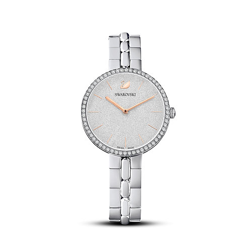 Cosmopolitan WatchMetal bracelet, White, Stainless steel